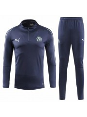 OLYMPIQUE MARSEILLE ROYAL BLUE TRACKSUITS 2018/2019