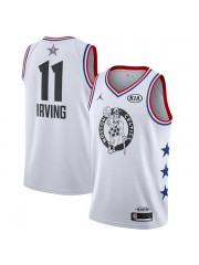 2019 All Star Game #11 Kyrie Irving White Jersey