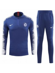 CHELSEA BLUE TRACKSUITS 2018/2019 - PLAYER VERSION