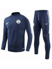 MANCHESTER CITY SAPPHIRE BLUE TRACKSUITS 2018/2019