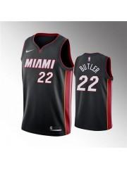 Miami Heat #22 Jimmy Butler 2019 20 Black Jersey