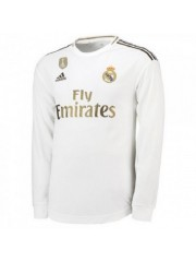 Real Madrid Home Jersey 2019/2020 - Long Sleeves
