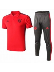 BAYERN MUNICH RED POLO TRAINING 2019/2020