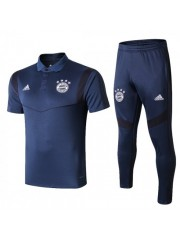 BAYERN MUNICH ROYAL BLUE POLO TRAINING 2019/2020