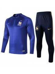 FRANCE BRIGHT BLUE TRACKSUITS 2019/2020