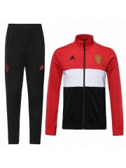 MANCHESTER UNITED RED + WHITE JACKET 2019/2020