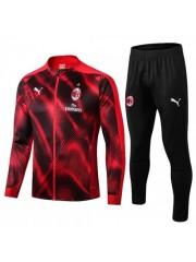 AC MILAN RED AND BLACK JACKET 2019/2020