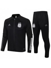 ARGENTINA JACKET AND PANTS BLACK 2020/2021