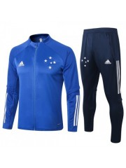 CRUZEIRO JACKET AND PANTS BLUE 2020/2021
