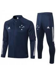 CRUZEIRO JACKET AND PANTS DARK BLUE 2020/2021