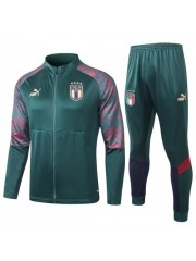 ITALY JACKET AND PANTS GREEN 2020/2021