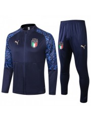 ITALY JACKET AND PANTS BLUE 2020/2021
