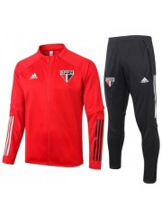 SAO PAULO JACKET AND PANTS RED 2020/2021