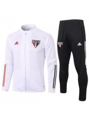 SAO PAULO JACKET AND PANTS WHITE 2020/2021