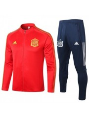 SPAIN JACKET AND PANTS RED 2020/2021