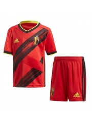 BELGIUM KIDS EUROPEAN CUP HOME KIT 2019/2020