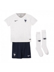 FRANCE WORLD CUP KIDS AWAY JERSEYS 2018 (2 STARS)