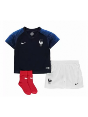 FRANCE WORLD CUP HOME JERSEYS 2018 KIDS (2 STARS)