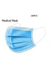 100 PCS - MEDICAL MASK (SINGLE USE)
