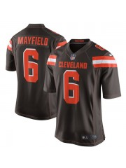 Cleveland Browns Baker Mayfield #6 Brown Jersey