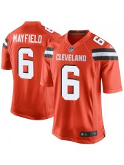 Cleveland Browns Baker Mayfield #6 Orange Jersey