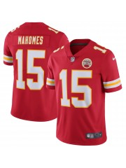 Kansas City Chiefs Patrick Mahomes #15 Red Jersey