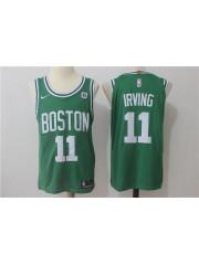 Boston Celtics #11 kyrie irving 2017-18 Green Jersey