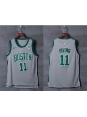 Boston Celtics #11 kyrie irving 2017-18 Grey Jersey