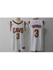Cleveland Cavaliers #3 Isaiah Thomas 2017-18 White Jersey
