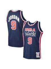 USA Basketball Michael Jordan Mitchell & Ness Navy Home 1992 Dream Team