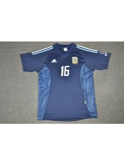 Argentina Away Jersey World Cup 2002